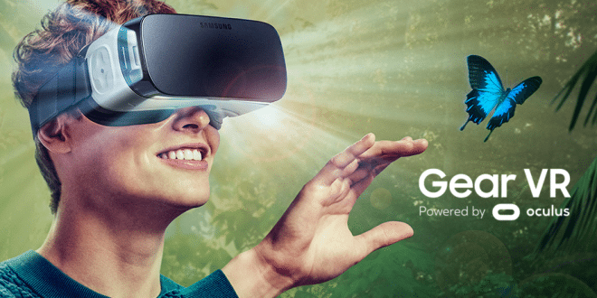 samsung gear vr pour telephone portable gaming